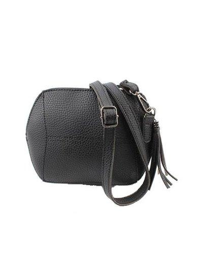 Little minimalist chic purse black