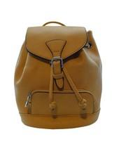 Cool minimalistic mini backpack yellow