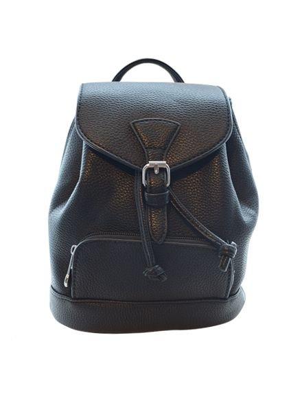 Cool minimalistic mini backpack black