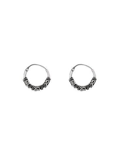 925 sterling silver minimalistic earrings Lombok 12mm