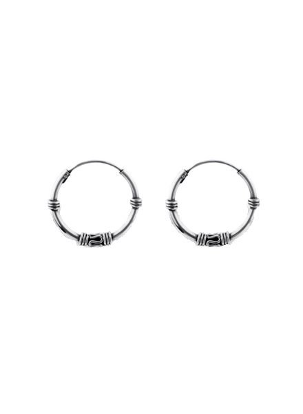 925 sterling silver minimalistic earrings Gili 16mm