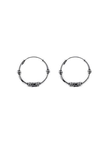 925 sterling zilver minimalistische oorringen Gili 16mm