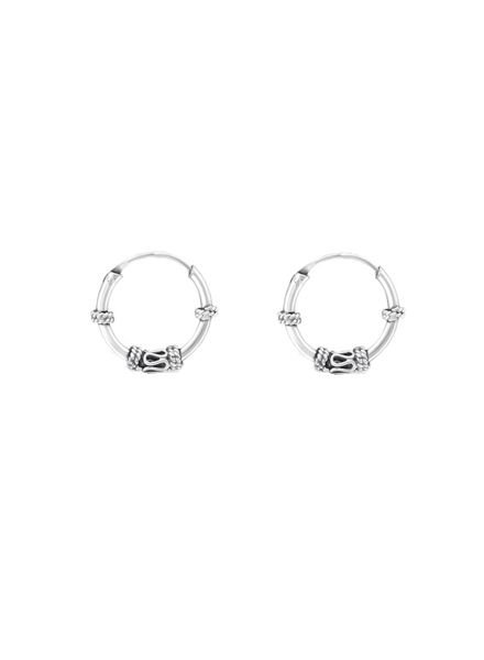 925 sterling silver minimalistic earrings Gili 12mm