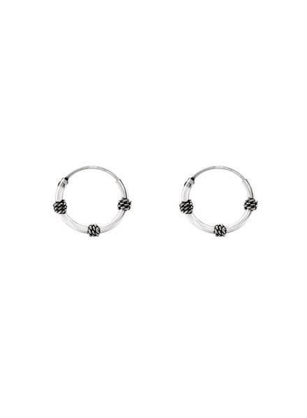 925 sterling silver minimalistic earrings Bangli 12mm