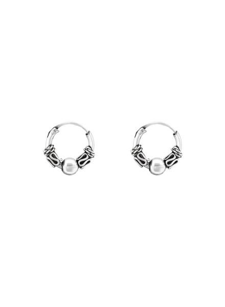 925 sterling silver minimalistic earrings Bali 10mm
