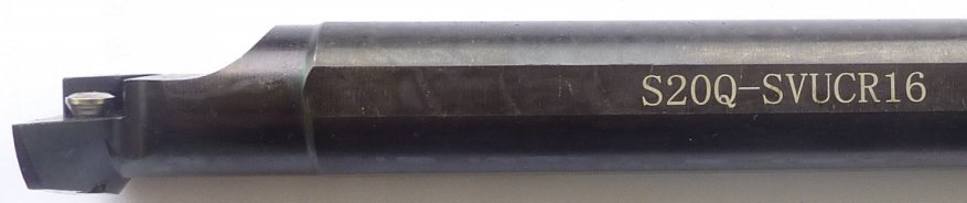 Klemmhalter SVUCR S16Q 16 für Wendeschneidplatten VCGT 16 .. ..