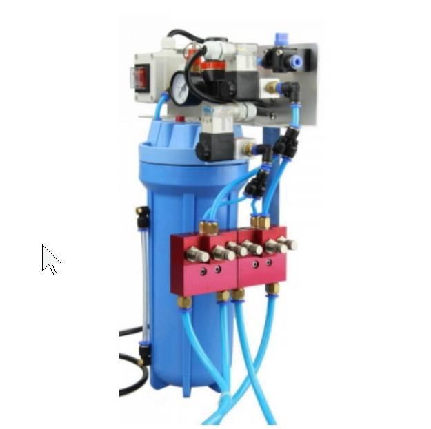 Dynacut Minimal quantity lubrication double nozzle DDL