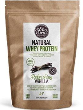 EkoPura Organic Whey Protein Vanille 500 gram