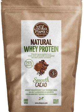 EkoPura Organic Whey Protein Chocolate 500 gram