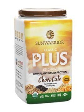 Sunwarrior Chocolade Proteine Poeder classic plus – 1kg