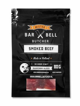 Barbell Butcher Smoked beef 80 gram