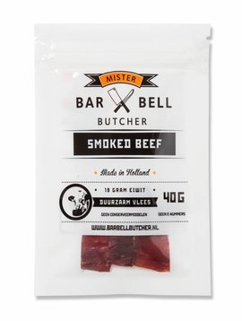 Barbell Butcher Smoked Beef 40 gram