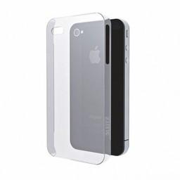 iPhone 4 / 4S siliconen (gel) achterkant hoesje - Transparant