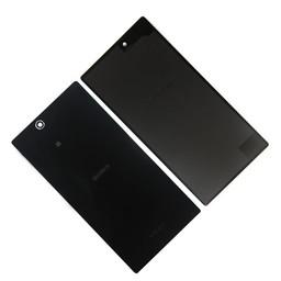 Sony Xperia Z3 Ultra Originele Batterij Cover (Zwart/Wit)