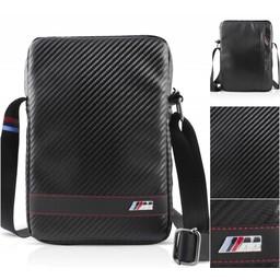 BMW M. Carbon Schoudertas voor alle 9.7, 10.1 inch Tablets - Zwart