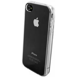 Puloka TPU Siliconen hoesje voor de achterkant van de Iphone 4 / 4S - Transparant