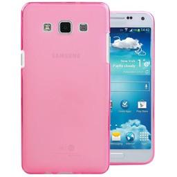 Puloka TPU Siliconen hoesje voor de achterkant van de Samsung Galaxy E5 - Roze