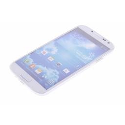 Puloka TPU Siliconen hoesje voor de achterkant van de Samsung Galaxy S4 - Transparant