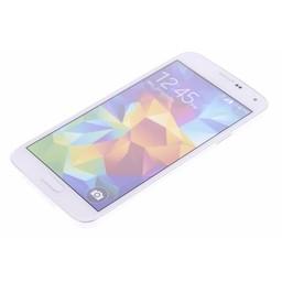 Puloka TPU Siliconen hoesje voor de achterkant van de Samsung Galaxy S5 - Transparant