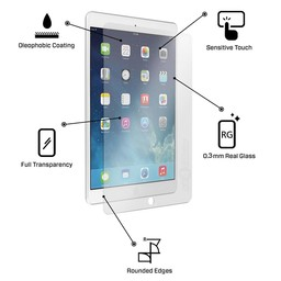 Tempered Glass Apple iPad 2 10.1 inch Screenprotector