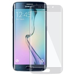 Tempered Glass Samsung Galaxy S6 Edge Curved full screen Screenprotector