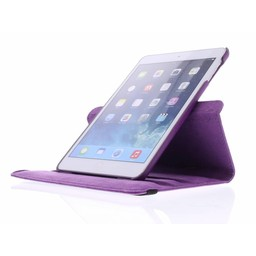 Ipad Mini 3 360° Rotating Case - Roterende Hoesje - Roze / Paars