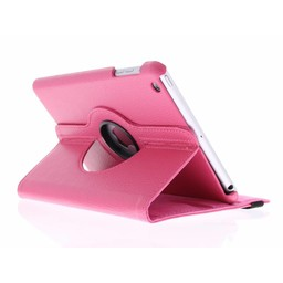 Ipad 2 360° Rotating Case - Roterende Hoesje - Roze / Paars