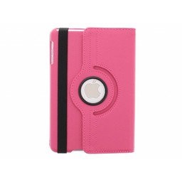 Ipad 4 360° Rotating Case - Roterende Hoesje - Roze / Paars