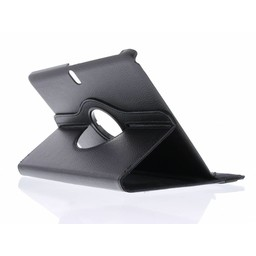 Samsung Galaxy Tab 2 10.1 inch (P5100) 360° Rotating Case - Roterende Hoesje - Zwart