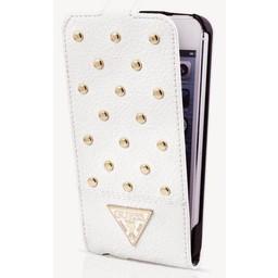 Guess Originele Tessi Folio Flipcase hoesje - Wit voor de Samsung Galaxy S5
