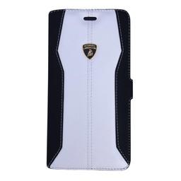 Automobili Lamborghini Huracan Bookcase hoesje voor de iPhone 6 / 6S - Zwart / Wit