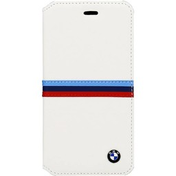 BMW Apple iPhone 6 / 6S BMW Bookcase hoesje - Wit