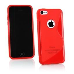 iPhone 4G/4S siliconen S-line (gel) achterkant hoesje - Rood