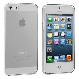iPhone 5G/5S siliconen S-line (gel) achterkant hoesje - Transparant