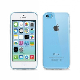iPhone 5C siliconen (gel) achterkant hoesje - Transparant