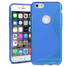 iPhone 6 plus / 6S plus siliconen S-line (gel) achterkant hoesje - Blauw