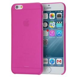 iPhone 6 plus siliconen (gel) achterkant hoesje - Roze