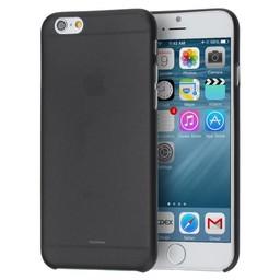 iPhone 6 plus siliconen (gel) achterkant hoesje - Zwart