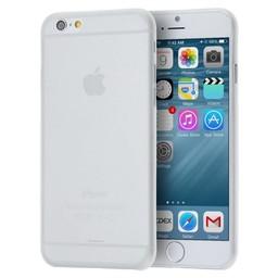 iPhone 6 plus siliconen (gel) achterkant hoesje - Transparant