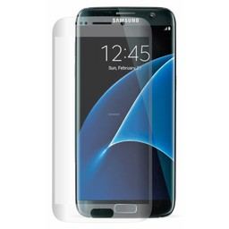 Tempered Glass Samsung Galaxy S7 Edge 3D Curved full screen Screen protector - Transparant