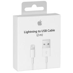 iPhone 5 / 6 Originele Lightning naar USB - Oplaadkabel 200cm