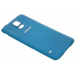 Samsung Galaxy S5 Originele Batterij Cover - Blauw