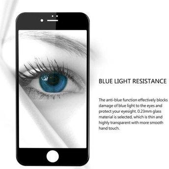 Diva iPhone 6+ / 6S+ Anti Blue Light Fullscreen Screenprotector - Wit