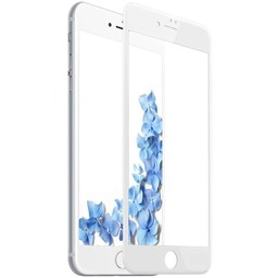 Diva 9H tempered glass iPhone 6+ / 6S+ Anti Blue Light Fullscreen Screenprotector - Wit