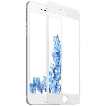 Diva Apple iPhone 6 Plus / 6S Plus Anti Blue Light Fullscreen Screenprotector - Wit