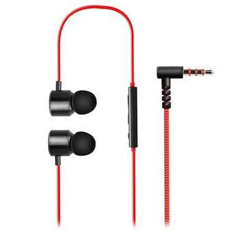 LG Originele Premium Quadbeat 3 Headset in ear - oordopjes Zwart / Rood