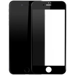 Diva 9H tempered glass iPhone 7 Plus Anti Blue Light Fullscreen Screenprotector - Zwart