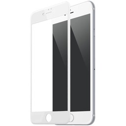 Diva 9H tempered glass iPhone 7 Plus Anti Blue Light Fullscreen Screenprotector - Wit