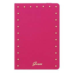 Guess Originele Studded Folio Universele Tablet - iPad Case hoesje 7″ / 8″ Inch - Roze