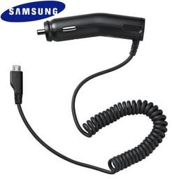 Samsung Originele Micro-USB ACADU16CBE Autolader - Zwart